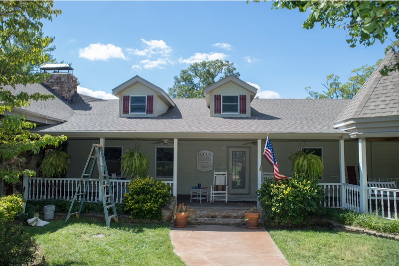 Exterior Painting - Home - Branson Paint Company