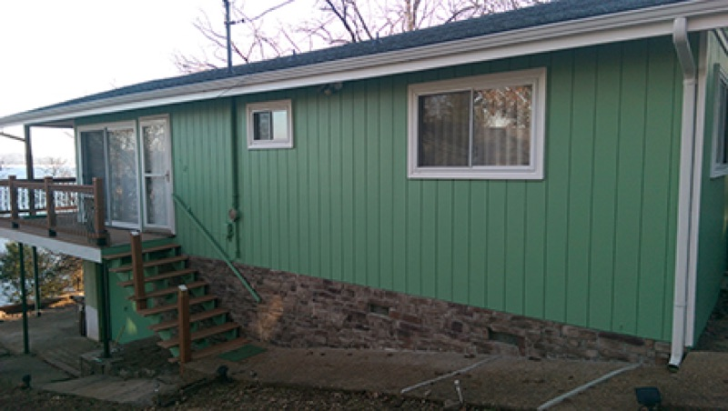 Exterior Painting - Outside - Branson Paint Company