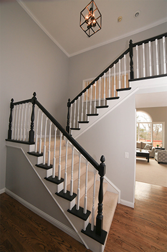 Painted Stairs - Branson Paint Co